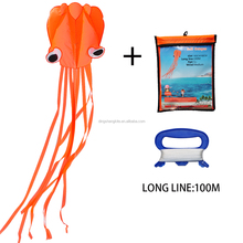 4m easy fly customized octopus kite for kids