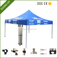 Dye Sublimation New Style Exhibition Waterproof Pop-Up Car Tent