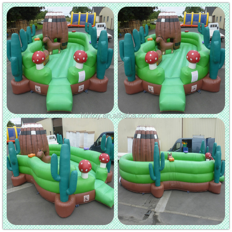 Large magic land inflatable toddler zone/fun city/cactus kids indoor playground