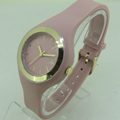 Fashion Western Print Logo Simple Geneva Design Watch For Silicon