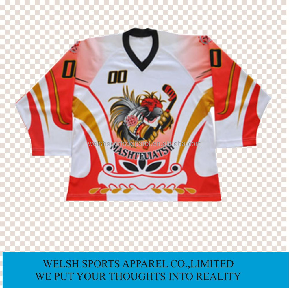 Custom Design Wholesale Ice Hockey Jersey Manufacturer