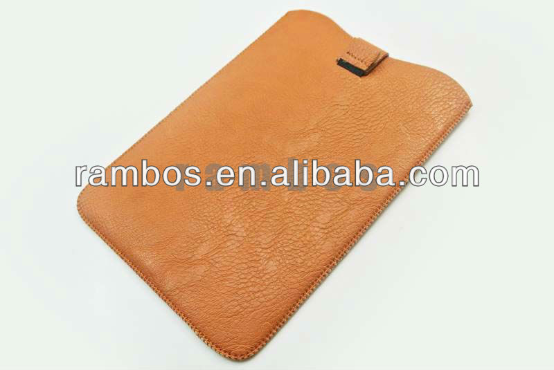 Hot Style Pull-up Tab Bag Sleeve Case Leather Pouch for iPad Mini 7.9