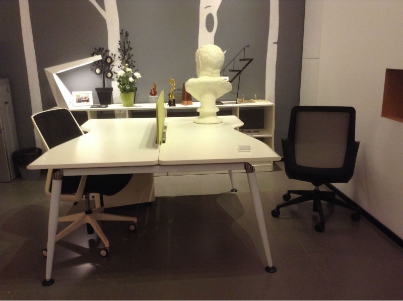 2 person office desk mdf employee office furniture buy two person desk furniture creative - Two person office desk ...