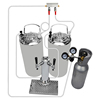 Two 5Gallon Kegs Fridge Assembly Kit