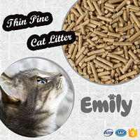 High quality super absorbent small granules pine cat litter