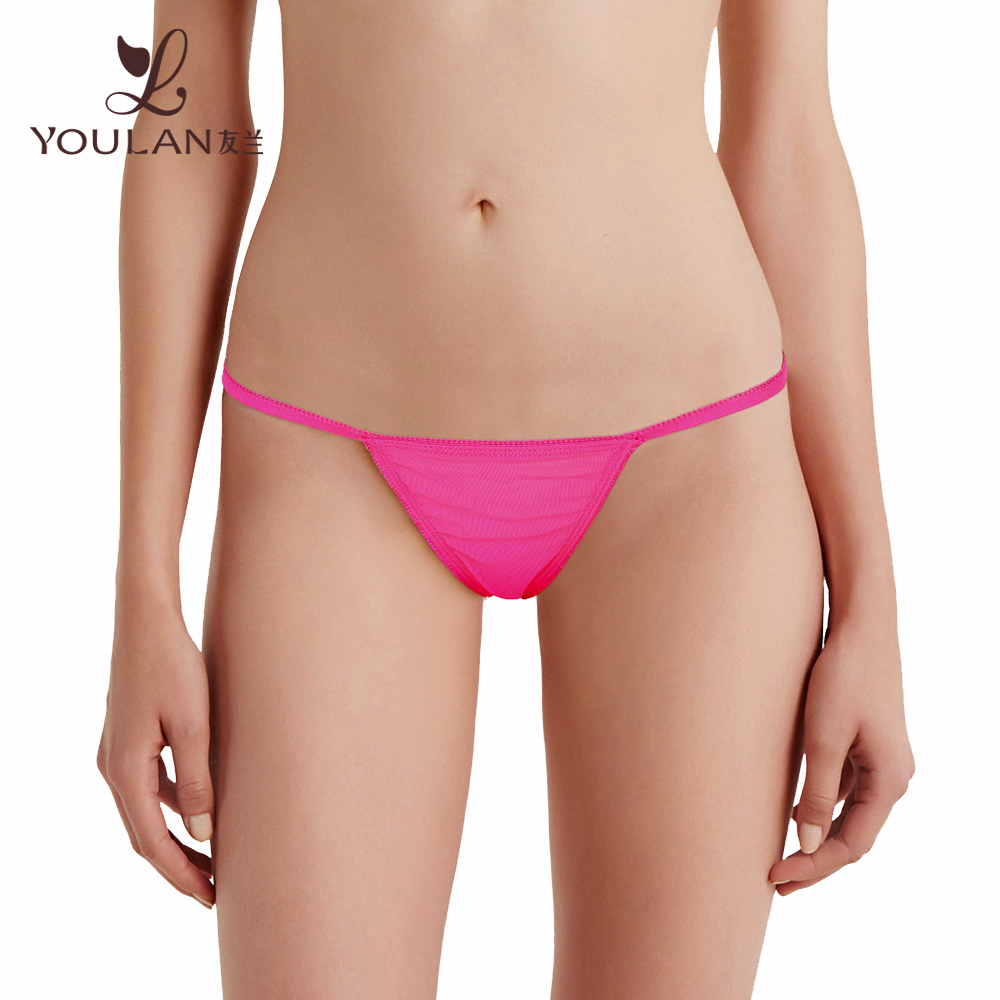 2017 Latest Beautiful Super Ladies Panty Brand Names Child Thong