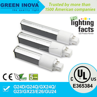 5 years warranty cULs E365384 11w G24 LED bulb