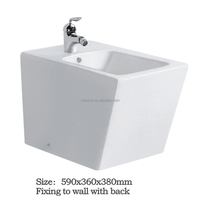 Woman use easy to clean sanitary ware cheap good quality ceramic Japanese toilet bidet