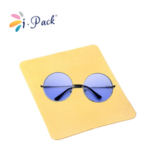 wholesale gold eyeglass microfiber polishing cleaning cloth
