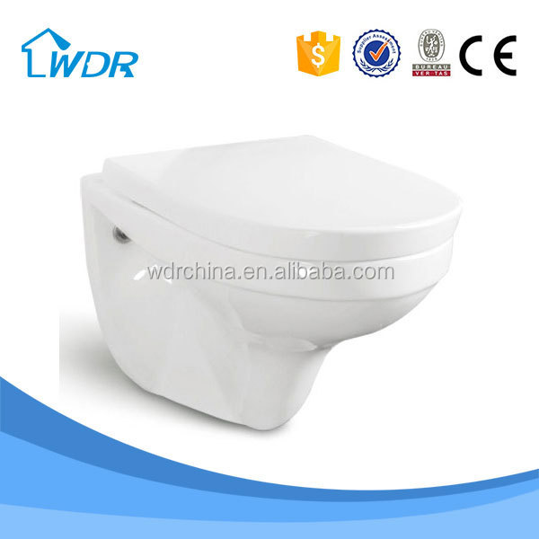 Modern ceramic wc Bathroom Bowl Hanging Toilet Bowl
