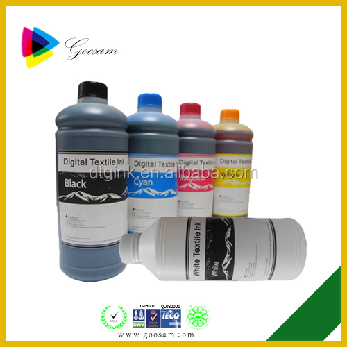 Superior color Fcbric Textile ink For MIMAKI Tx400-1800B direct to garment printer