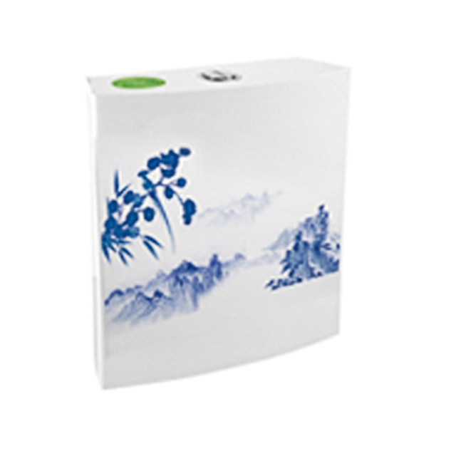 Ceramic Decoration toilet flush without flush tank
