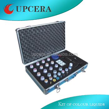 Stain kit match with upcera zirconia block of dental color liquid