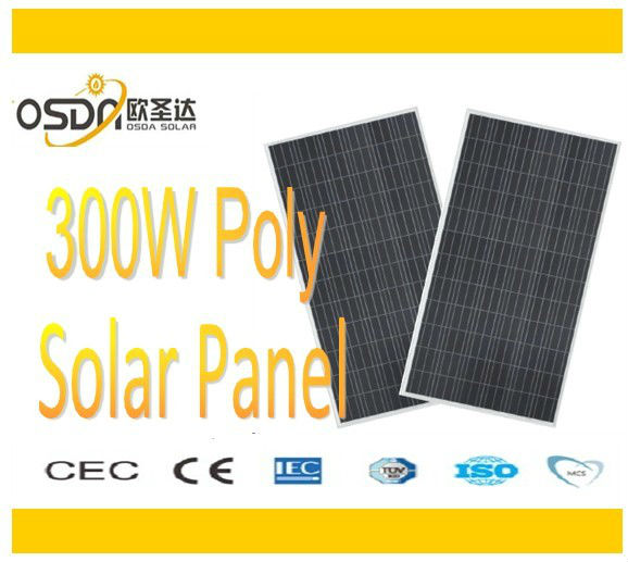 300V /36V solar panels poly for high quality and efficiency
