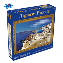 2018 Intelligent Baby LOZ Mini World Famous Building 2D Puzzle 1000 Pieces Jigsaw
