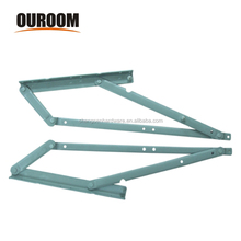 Adjustable steel folding sofa bed hinge