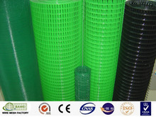 PVC Plastic coated welded wire mesh for making bird cage