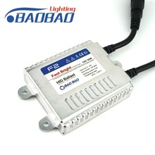 Factory wholesell quick start 35w super slim baobao hid xenon conversion ballast h7 6000k hid xenon kit