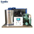 SamBo Refrigeration Commercial Scale Flake Ice Machine maquina fabricadora de hielo 3T/day For Fishery