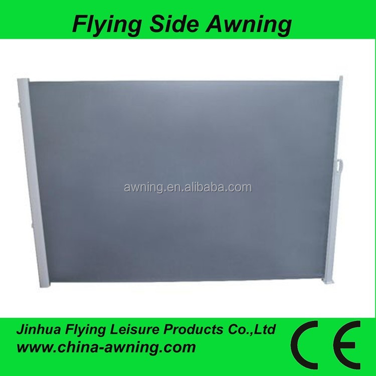 Hotel Polycarbonate side awning screen