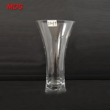 Cheap tall glass vases wholesale cylinder for wedding deco