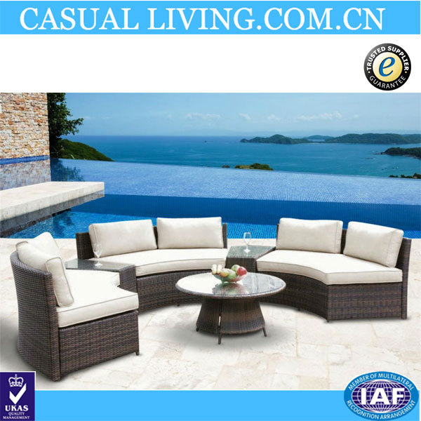 Outdoor Rattan Wicker Yard Lawn Deck Furniture Sofa Set