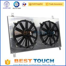 Good quality racing oil cooler aluminum radiator with plastic tank for buick