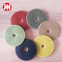 wet dry hand held diamond vantage rock marble polishing pads