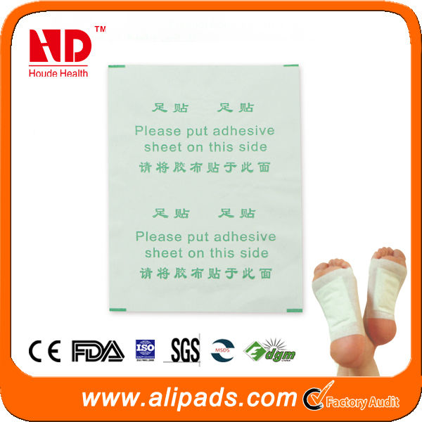 Sell well!High Quality Detox Foot Patch By CE,FDA Approved, 2 in 1 Version