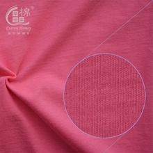 Wholesale China Knitted Fabric Stocklot T shirt Cheap 100 Cotton Fabric for Sportwears