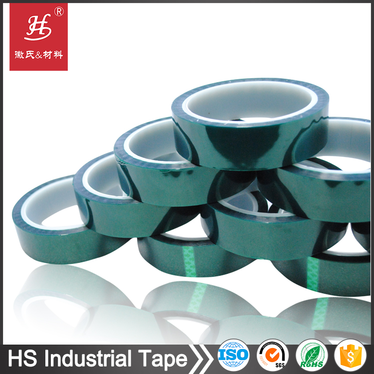 Hot online sellling heat resistant pet silicone film tape supplier with SGS certification