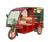electric tricycle for passenger taxi rickshaw, 60v 1200W MOTOR
