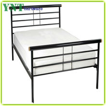 industrial metal single bed