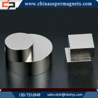 Wholesale Customized Industrial high power strong supplier china ningbo black epoxy coated neodymium magnets