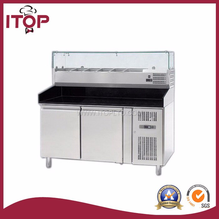 air-cooled 2-8C for pizza refrigerated counters