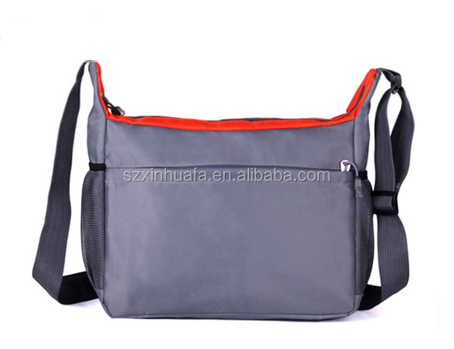 Custom Cross Body Zipper Messenger Bag Mens Shoulder Long Strip Bag Manufacturer