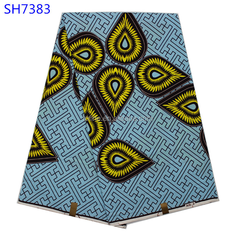 wholesale african wax print fabric phoenix hitarget real wax fabric for