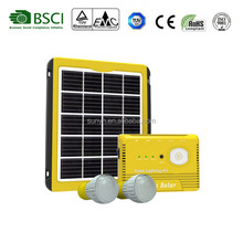 Portable and high bright DC 5W Solar Lighting Kit