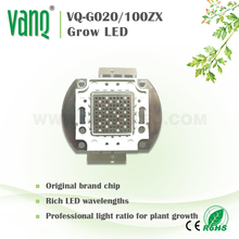 Brand-new 100W 365nm UV High Power LED,45mil Epileds led chip,UV Curing led chip