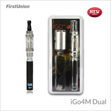 New products korea mistic electronic cig iGo4M dual LCD display e cigarette starter kits