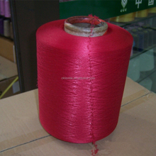 Factory supplying 150D/48F polyester covered 40D spandex yarn for knitting socks