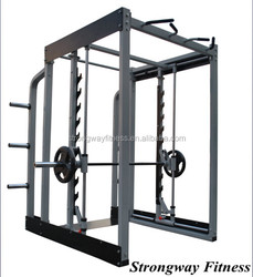Fitness Equipment , Gym Equipment 3D Smith machines KK08