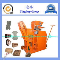 Easy to operate!!!concrete interlocking block machine YF1-25