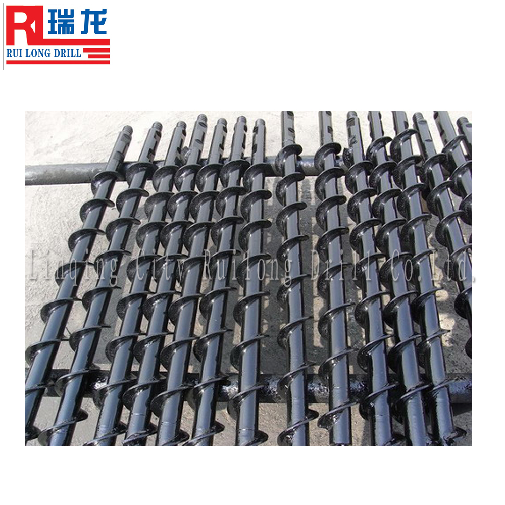Underground coal mining equipment,coal mining spiral drill rod,coal mining machine