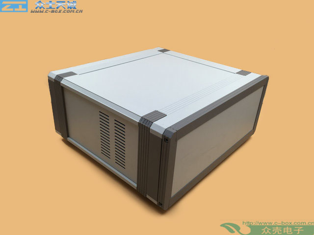 AB-2 / 90*280*260mm custom metal shell Control Box Medical Instrument Aluminium Chassis