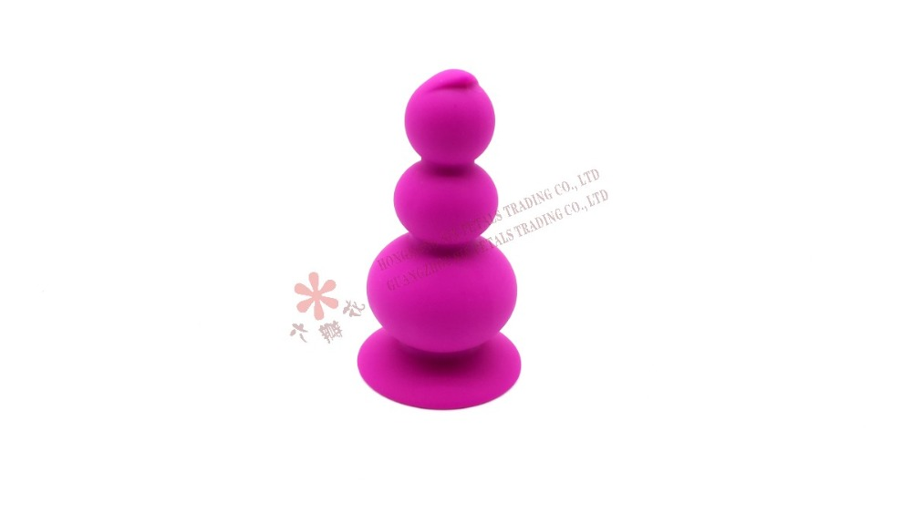 Probe Vibrating Anal Plug Silicone Anal Toys Anal Vibrator For Man in color