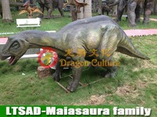 Friendly Maiasaura Family for Display