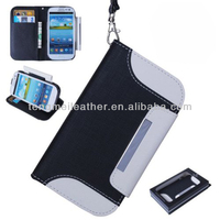 Luxury couple case for samsung galaxy s3,new fashion girls wallet leather case for samsung galaxy s3