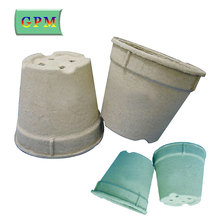 Wholesale factory price high quality garden round paper pulp nursery plug trays on sale