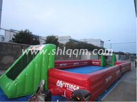 Human Inflatable Football Pitch for Sport Games